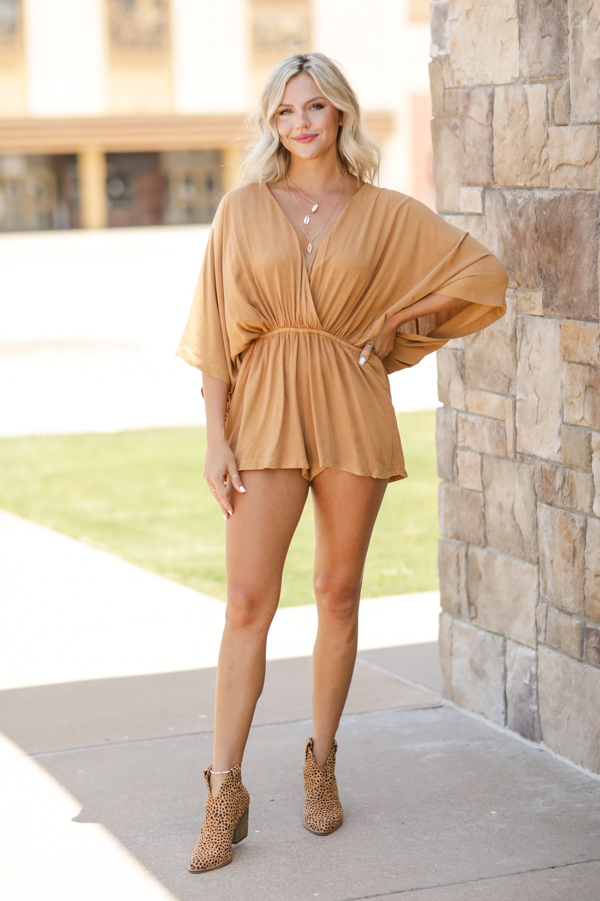 Blown Away Romper
