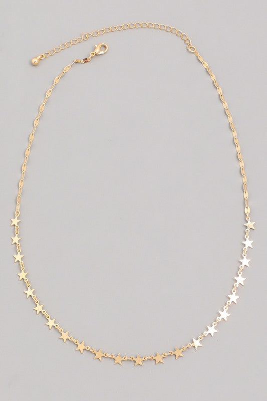 Raining Stars Necklace