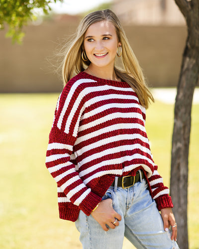 Stripe One Sweater