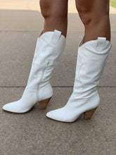 Load image into Gallery viewer, BOHEMIAN BOOT - WHITE