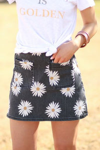 Daisy Love Mini Skirt