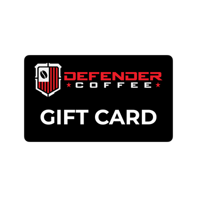 DEFENDER COFFEE GIFT CARD