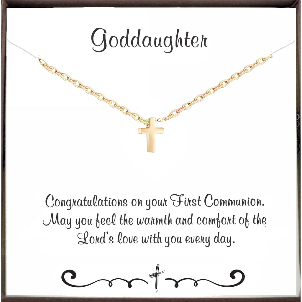 First Communion Necklace for Goddaughter