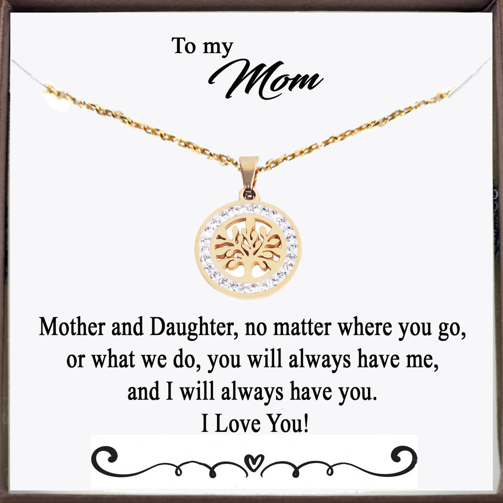 To my Mom - Tree of Life Necklace