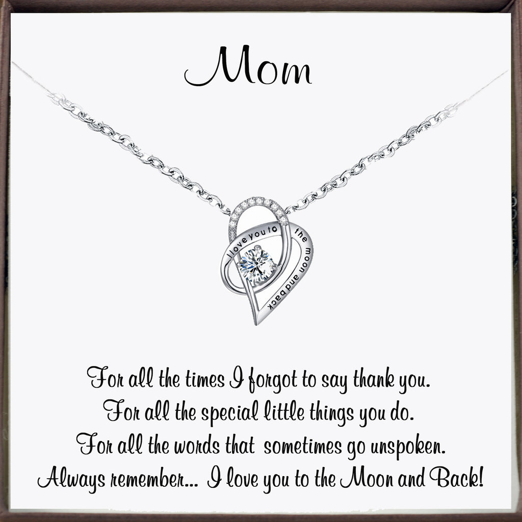 To my Mom - I love you to the Moon & Back
