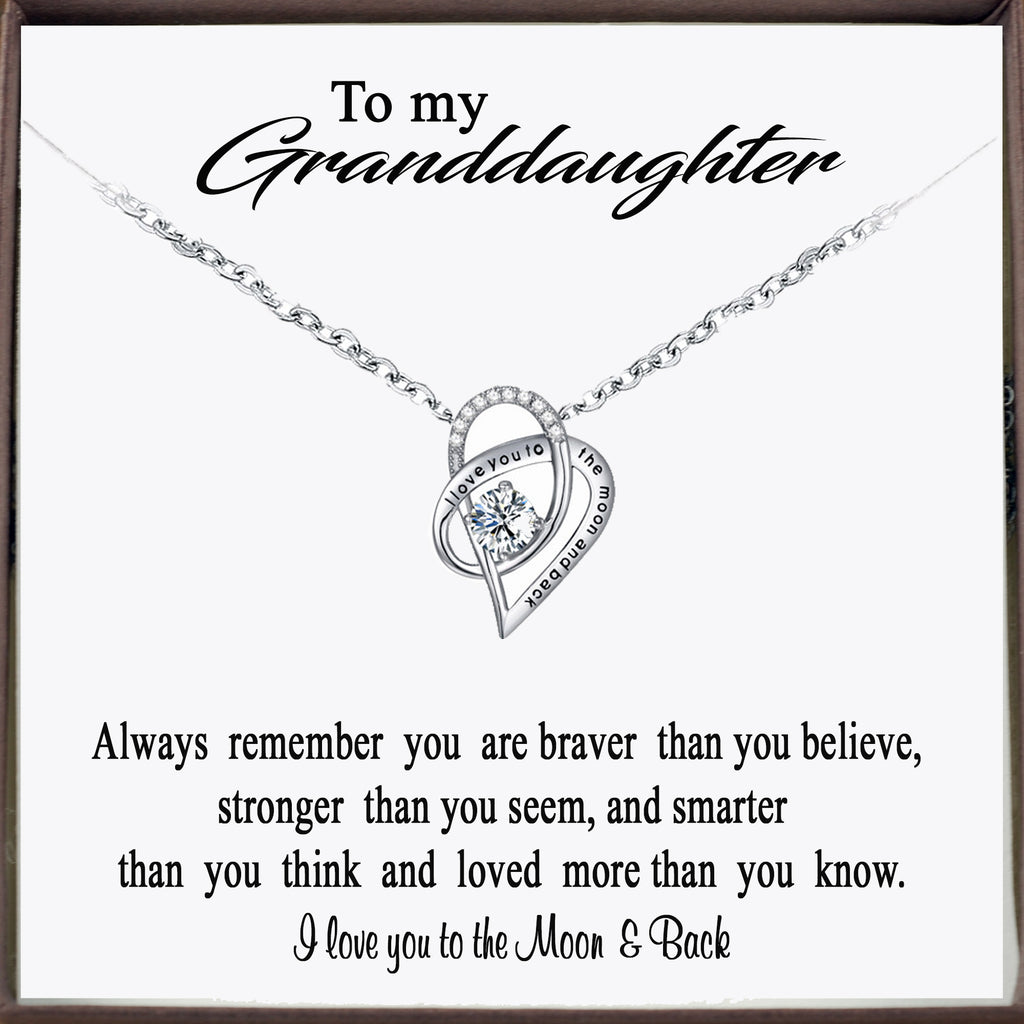 To my Granddaughter - I love you to the Moon & Back