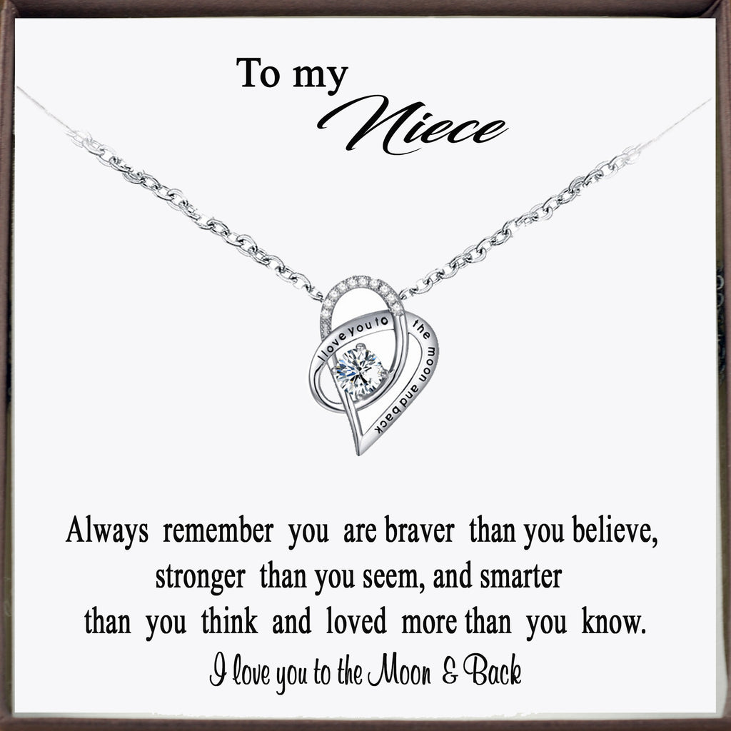 To my Niece - I love you to the Moon & Back