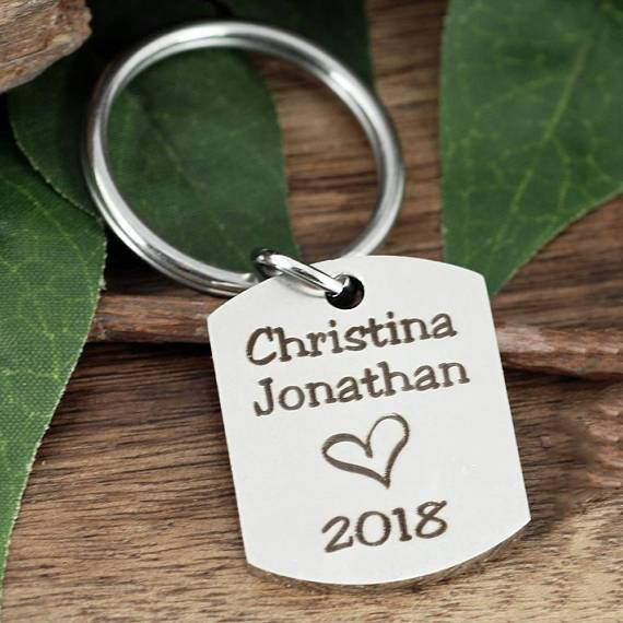 Personalized Keychain for Dad or Grandpa