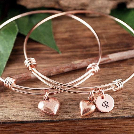 Custom Mother-Daughter Bracelet