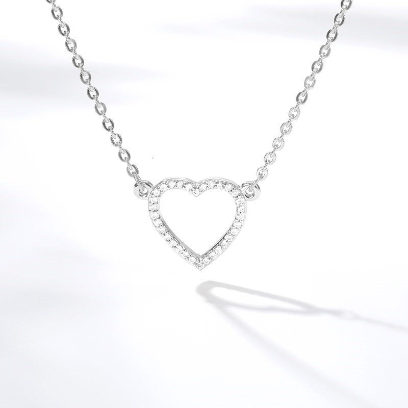 To my Daughter - Crystal Heart Necklace