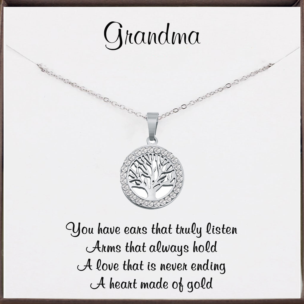 Grandmother - Tree of Life Necklace