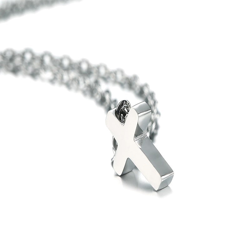 Tiny Cross Necklace for Niece - First Holy Communion
