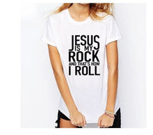 Jesus is my Rock and thats how i roll T-shirt