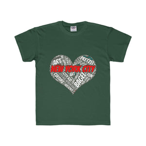 I Heart New York Kids Regular Fit Tee