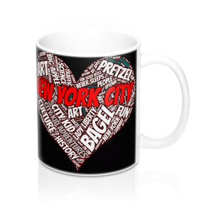 I Heart New York Mug - 11oz