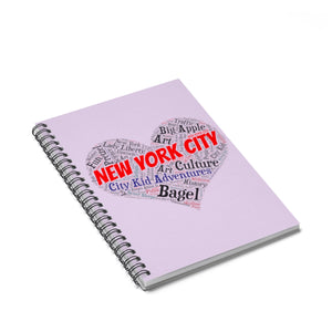 I Heart New York Spiral Notebook - Ruled Line