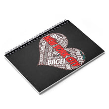 I Heart New York Black Spiral Notebook - Ruled Line