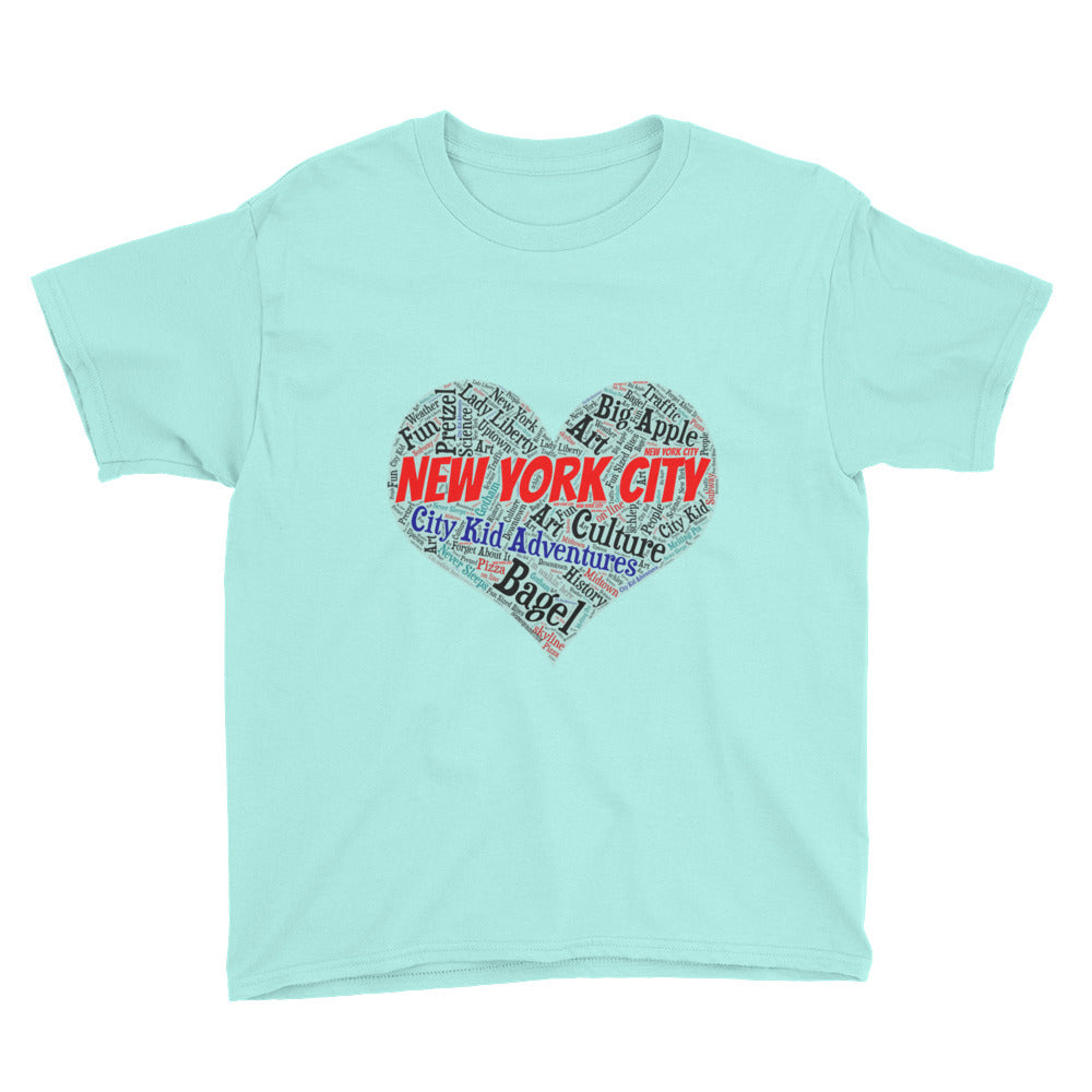 I Heart NYC Fun Youth  Tee