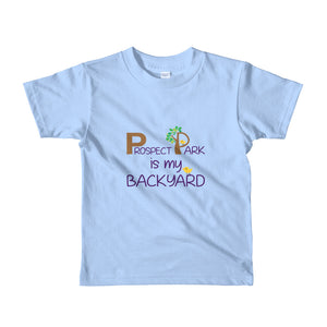 Prospect Park is My Backyard. Fun, Short-Sleeve Kids T-Shirt