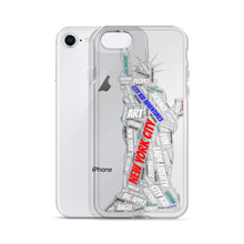 Lady Liberty Pop Art iPhone Case