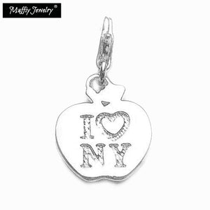 "Sterling Silver ""I Love New York"" Charm"