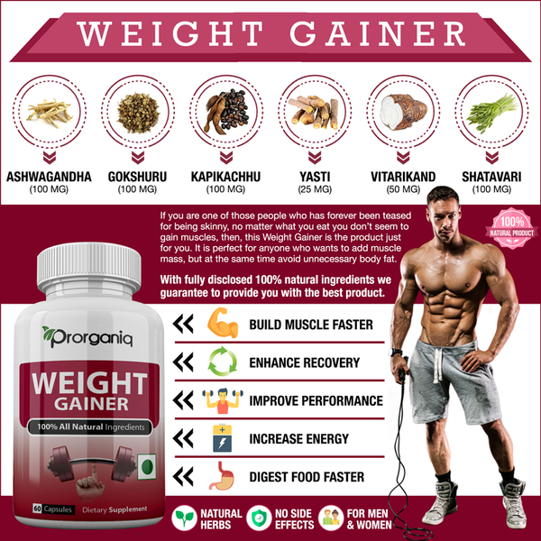 weight gainer best supplement
