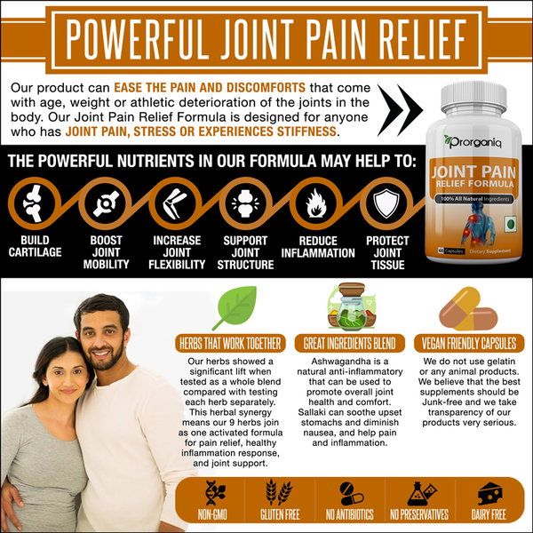 joint pain relief natural supplements