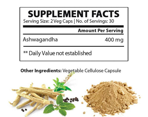 Ashwagandha supplement facts