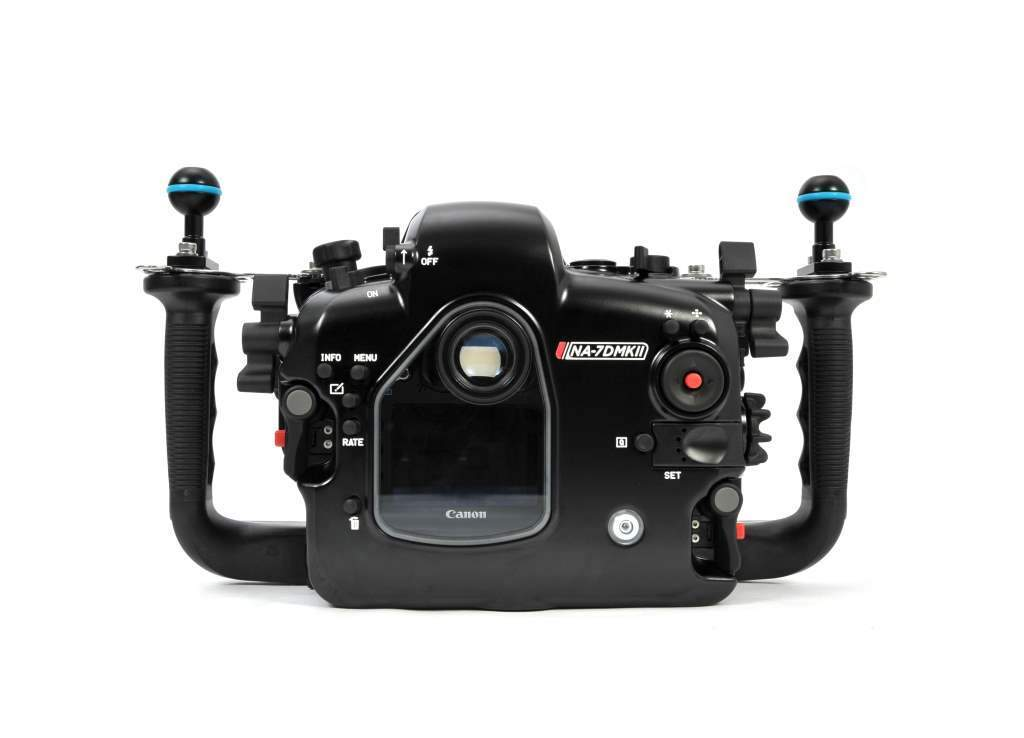 Nauticam NA-7DMKII Underwater Camera Housing for Canon 7D Mark II