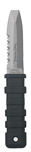 Deep See EZ Lock Knife with Blunt Tip (Black)