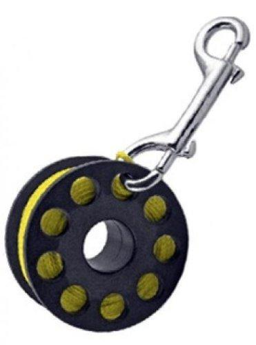 Finger Reel with Brass Clip Wreck Scuba Diving Tech Spool 3 Sizes