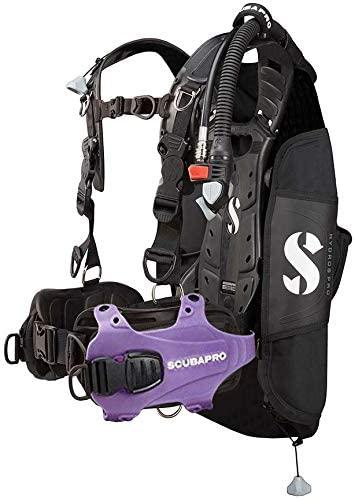 Scubapro Hydros Pro Men's BCD w/Balanced Inflator-Purple Large