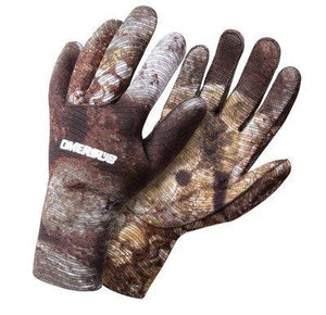 OMER 2mm Camu 3D Camouflage Spearfishing Gloves