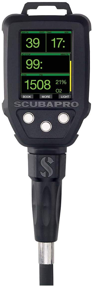 SCUBAPRO G2 Console Dive Computer with Quick Release, Black, One Size