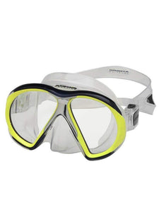 Atomic Aquatics SubFrame Mask Clear/Yellow Medium