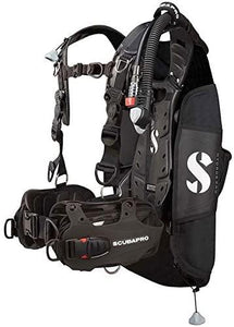 Scubapro HYDROS PRO BCD with BPI, Men, Black, M