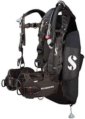 Scubapro HYDROS PRO BCD with BPI, Men, Black, XL/2XL