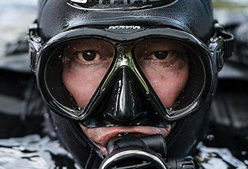 Atomic Sub Frame Mask (Black/Black, STD Fit)