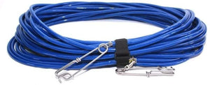 Riffe Heavy Duty Vinyl Float Line Assembly for Spearfishing and Freediving (Blue, 25 Ft)