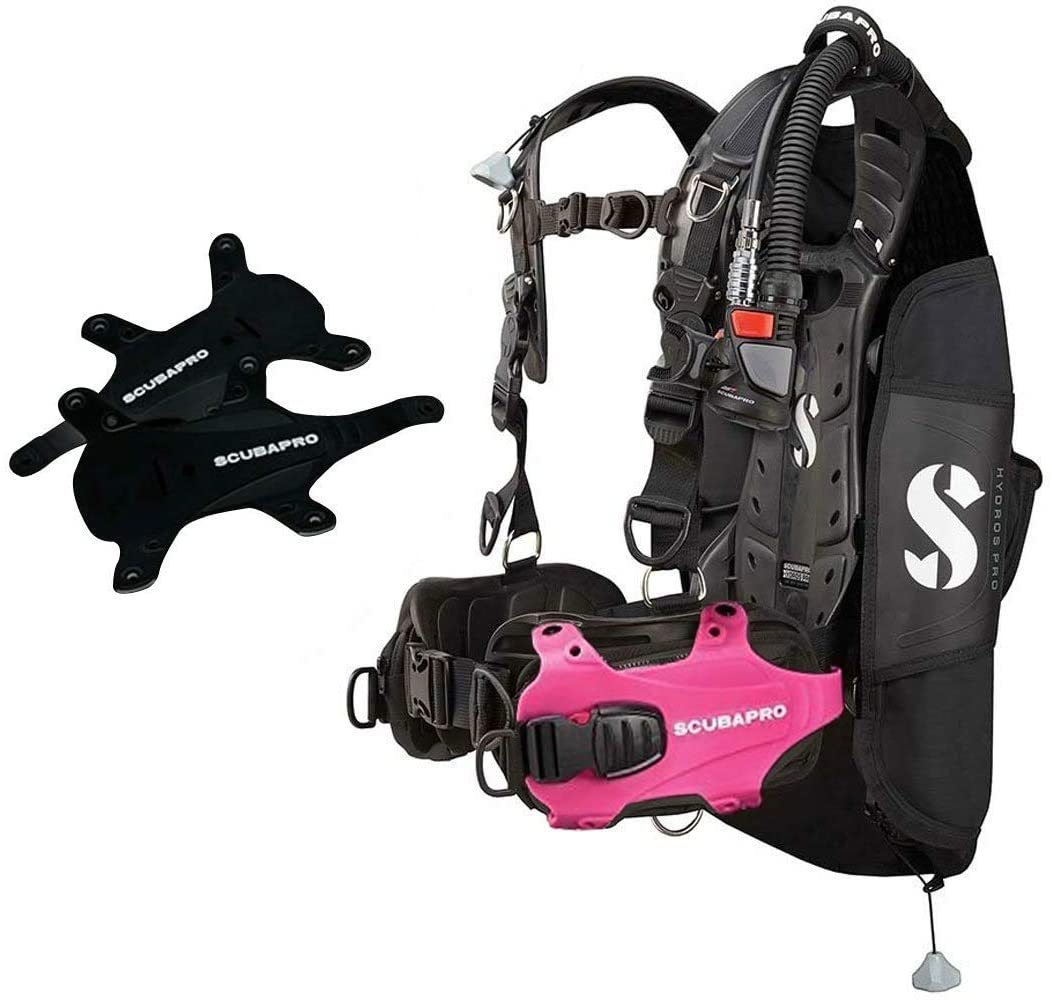 Scubapro Hydros Pro w/5th Gen. Air2 BCD- PINK-Large (Mens)