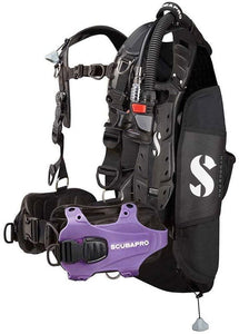 Scubapro Hydros Pro w/5th Gen. Air2 BCD- PURPLE-Medium (Mens)