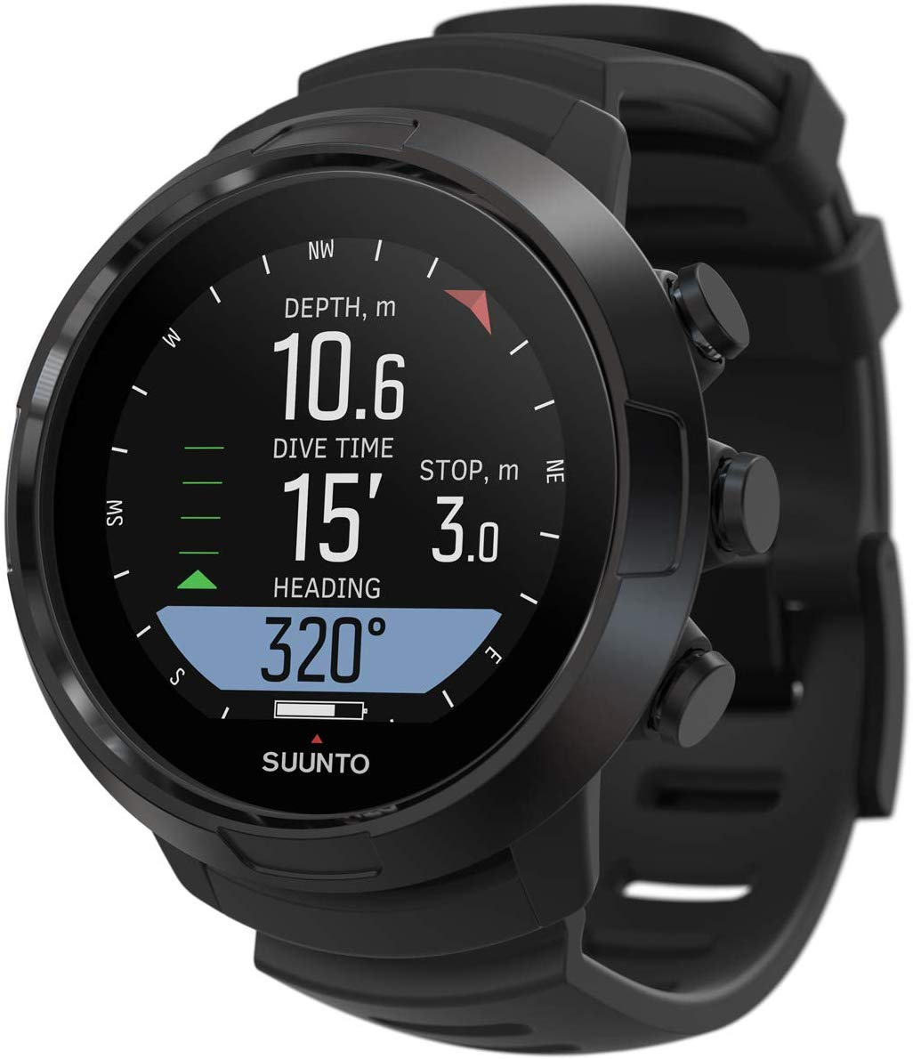 SUUNTO D5 Scuba Diving Wrist Computer with USB Cable