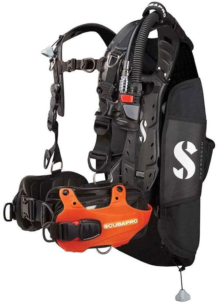 Scubapro Hydros Pro w/5th Gen. Air2 BCD- ORANGE-Small (Mens)