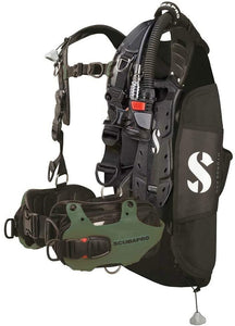 Scubapro Hydros Pro w/ 5th Gen. Air2 BCD Men's - Army Green Small