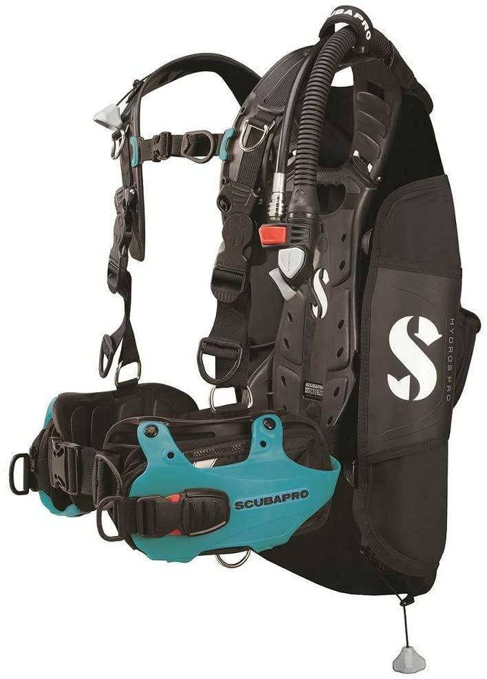 Scubapro Hydros Pro Men's w/Balanced Inflator BCD-Turquoise XL-2XL