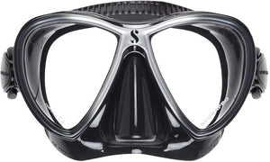 SCUBAPRO Synergy Twin Dive Mask, Silver, One Size