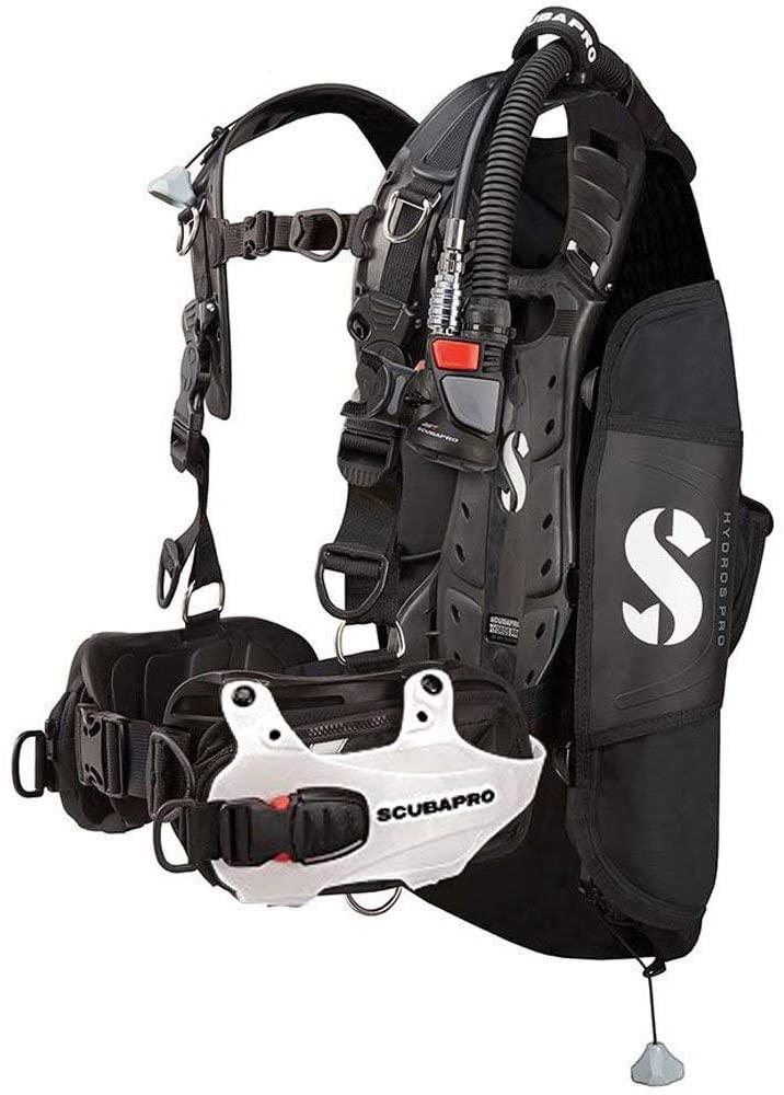 Scubapro Hydros Pro w/5th Gen. Air2 BCD- WHITE-Large (Mens)