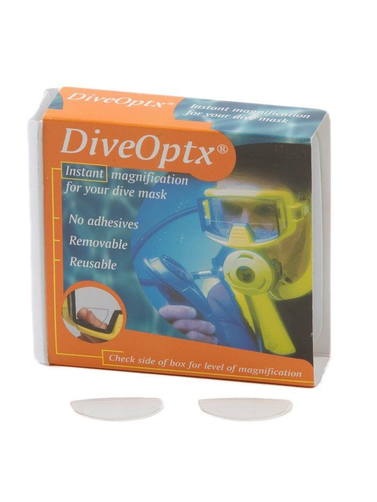 Aqua Dive Optx Flexible Dive Mask Magnifiers (1 Pair) DiveOptx
