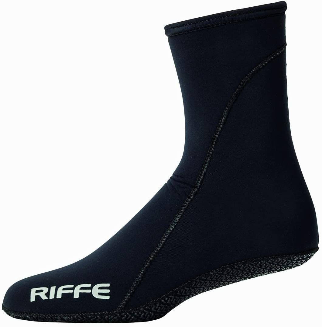 Riffe 3.5mm 3D Dive Sock W/Non-Skid Sole - 3.5Mm
