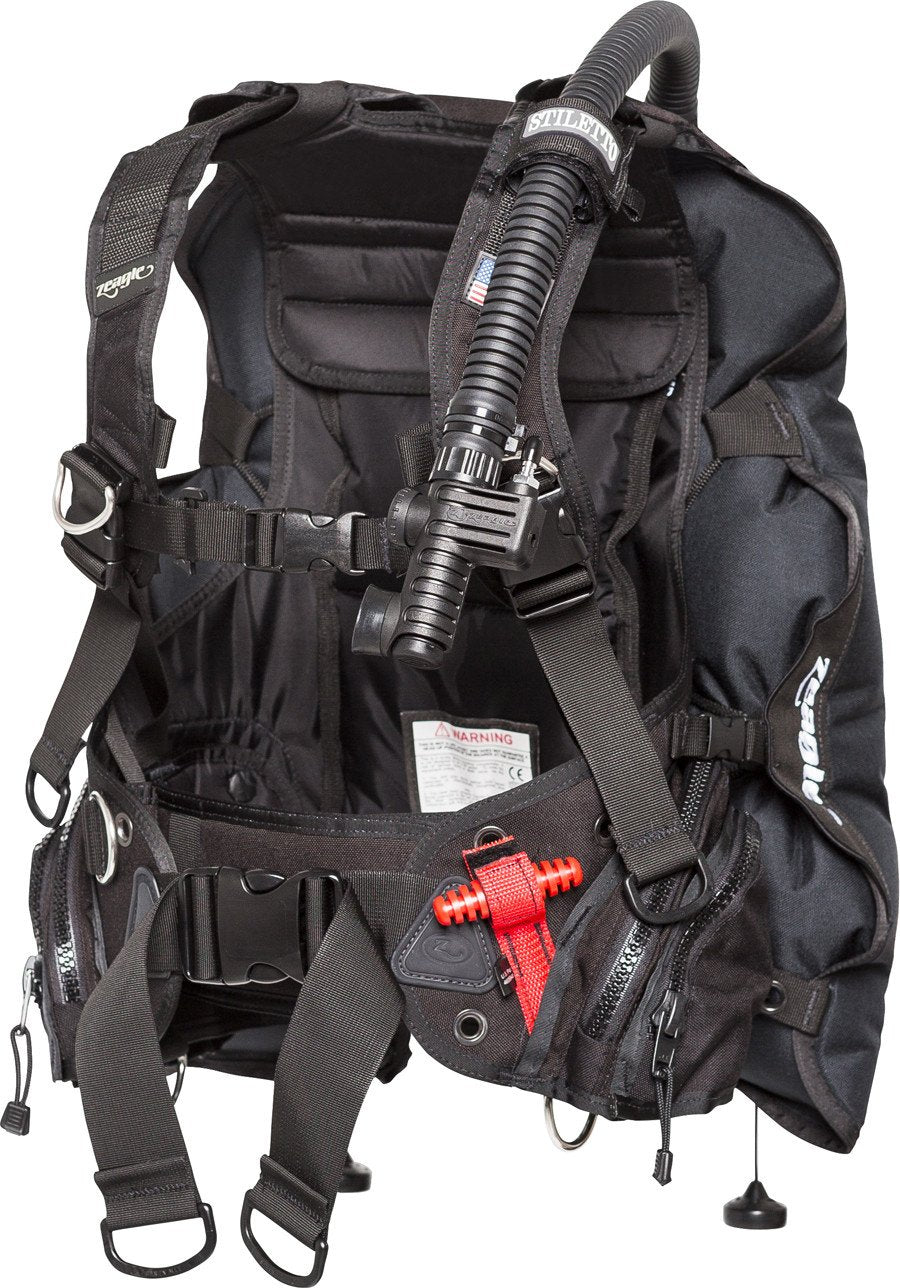 Zeagle Stiletto BCD with Ripcord Weight System